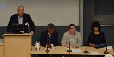 The Framework for Pacific Regionalism panel at SOTP2016 conference. Image SSGM