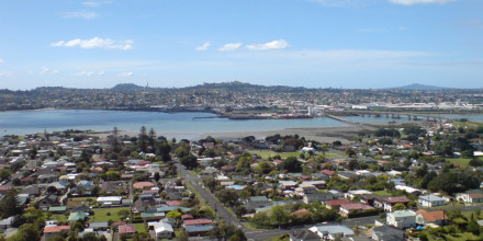 View over South Auckland. Image from WikiCommons
