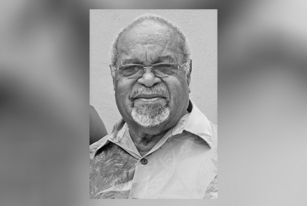 Papua New Guinea's first prime minister, Sir Michael Somare. Picture by Dan McGarry