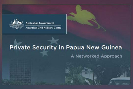 Private Security in PNG: A Networked Approach by Sinclair Dinnen and Grant Walton