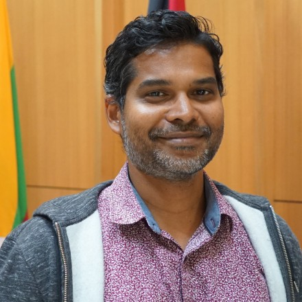 Athaulla Rasheed, PhD Candidate, Department of PAcific Affairs