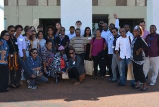 Pacific Research Colloquium 2017 participants. Image DPA