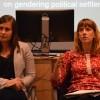 Dr Sophie Close & Amie Kirkham seminar. Image DPA