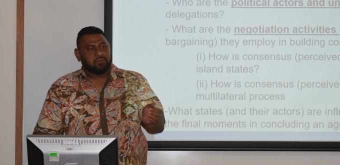 George Carter presentation. Image DPA