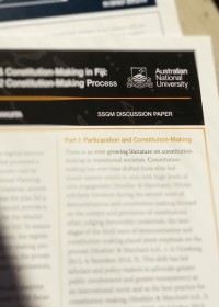 DPA (SSGM) Discussion Paper cover